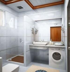 现代简约风卫生间装修效果图大全,小卫生间现代简约装修效果图大全