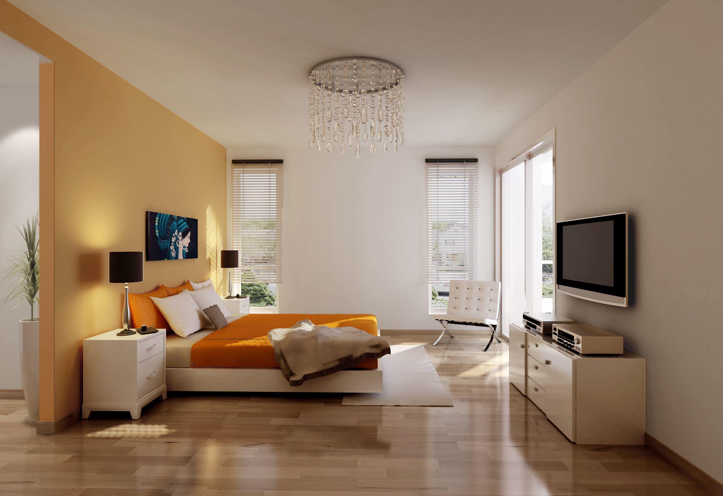 现代简约风格户型装修案例,长沙点石家装现代简约风格装修案例