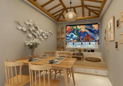 日式和风古典装修,日式餐厅和风装修