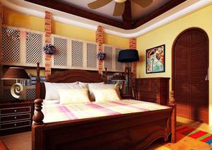 大戶型東南亞風格裝修效果圖,東南亞風格裝修臥室效果圖