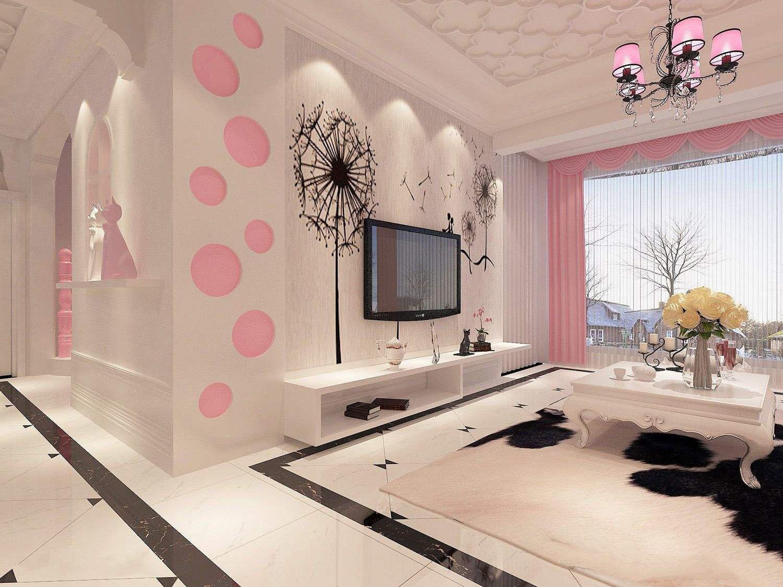 70小户型客厅装修效果图,70平小户型三室装修效果图