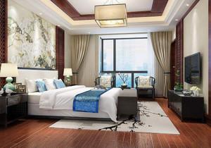 房屋新中式臥室裝修圖片大全,房屋新中式臥室裝修圖片