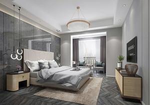 简约北欧卧室装修效果图,北欧卧室简约风格装修效果图