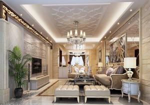 新古典欧式风格客厅装修图片,欧式新古典风格装修实图