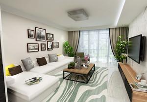 三居室的装修效果图,现代三居室装修效果图