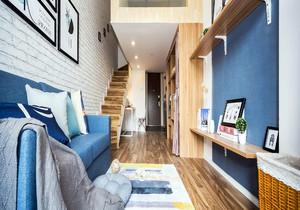 40平米单身公寓带隔楼的装修效果图大全,40平米的loft公寓装修效果图
