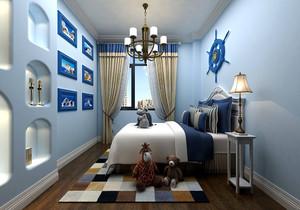 小面积儿童房壁柜装修效果图,面积小的儿童房装修效果图