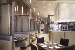 飯店敞開式廚房設計效果圖大全,飯店廚房和大廳設計效果圖