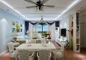 小户型地中海客厅装修效果图欣赏,地中海客厅阳台装修效果图欣赏