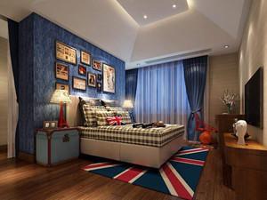 地中海风格卧室装修效果图,地中海风格开放式卧室装修效果图大全