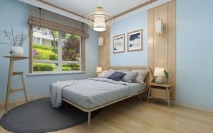 日式和风卧室装修,和风日式装修效果图