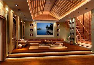 东南亚风格装修效果图赏析,东南亚室内装修风格效果图