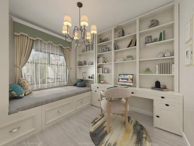 带飘窗的卧室窗帘装修效果图,十三平方带飘窗的卧室装修效果图