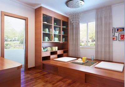 大卧室的榻榻米效果图,大卧室改造榻榻米装修效果图