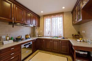 新中式厨房风格装修效果图,厨房新中式装修风格效果图