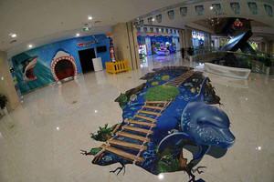 室内游乐园效果图,招牌设计效果图游乐园