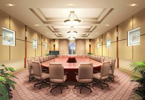 小型前卫会议室效果图,学校小型会议室装修效果图