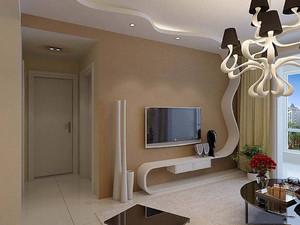 影視墻圖片簡單大方,小客廳影視墻裝修圖