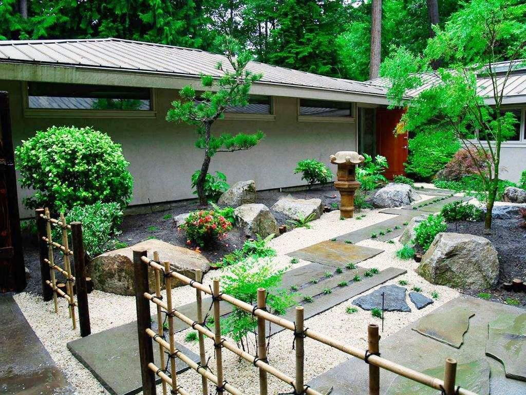 40平小院��景案例,40平米小庭院�O���景�D