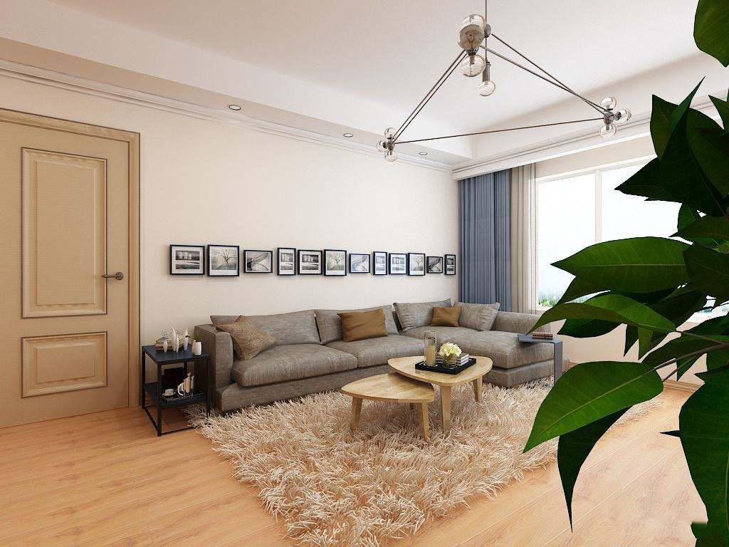 80平米三室一厅装修效果图,80平米三室一厅小户型装修案例