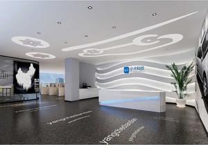 科技公司墙面装饰效果图,网络科技公司装修效果图