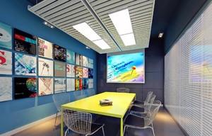 60平米传媒公司装修效果图,小型传媒公司装修效果图