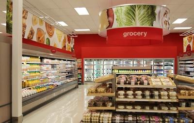 校园小型超市装修效果图,食品小超市装修效果图
