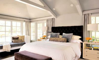 带弧形飘窗的卧室装修效果图,带飘窗的卧室装修效果图欣赏