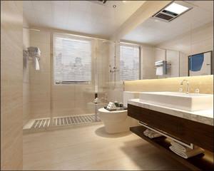 方形卫生间装修效果图,2米卫生间方形装修效果图