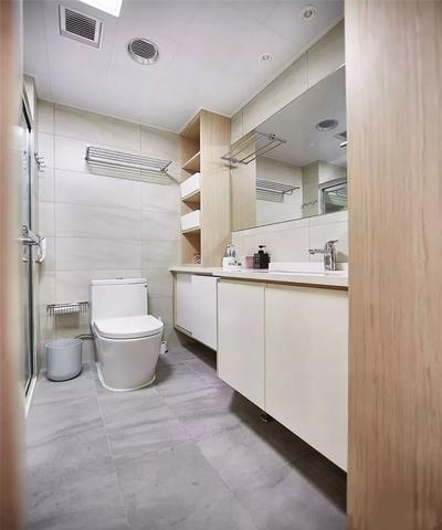 3平方长方形卫生间布局图,长方形小卫生间怎么布局