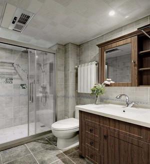 迷你干湿分离卫生间装修效果图,方形迷你卫生间装修效果图