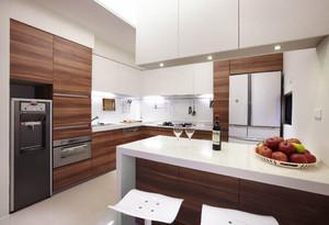 简约开放式小厨房装修效果图,小厨房开放式装修效果图欣赏