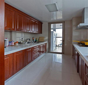 4米一字型厨房装修效果图,厨房是一字型怎么装修