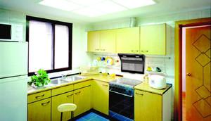 侧吸式油烟机厨房装修效果图,厨房油烟机装修效果图大全