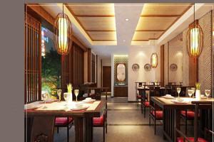 现代新中式中式酒店包房装修效果图,酒店新中式风格装修效果图