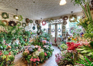 鲜花店怎样装修,高端鲜花店装修效果图