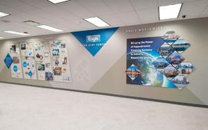 公司形象墙名称设计效果图,环保公司形象墙设计效果图