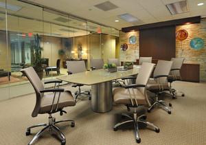 办公室形象墙设计效果图,办公室装修及形象墙效果图