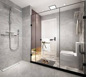 最新中式卫生间装修效果图,2019最新卫生间装修效果图