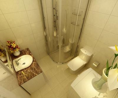 1.5平米小卫生间装修效果图,1.5平米的卫生间如何装修效果图