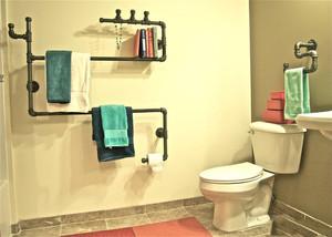 创意家居卫生间装修效果图,卫生间创意装修效果图