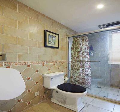 迷你长形卫生间装修效果图,家庭迷你卫生间装修效果图