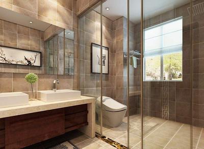 玻璃卫生间移门装修效果图,卫生间移门装修效果图大全
