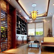 客厅中式局部100平米装修