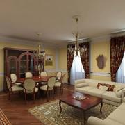 客厅现代局部90平米装修