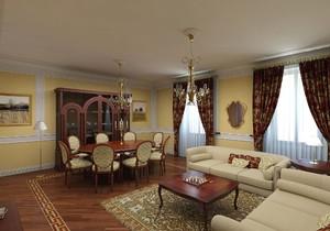 实木家具小客厅效果图,客厅实木家具摆放效果图