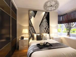 卧室墙纸装修效果图大全,现代简约卧室壁纸装修效果图大全