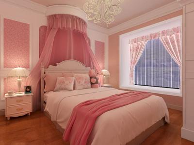 別墅公主臥室裝修效果圖,美式別墅公主臥室裝修效果圖