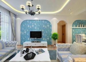 地中海田园风格别墅装修案例,地中海风格装修经典案例