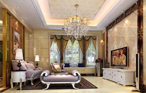 60平欧式新古典装修风格,欧式新古典客厅装修风格图片